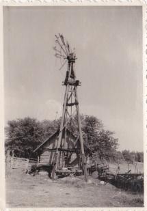 Omatehtud tuuleturbiin Sepa talus 1965 aastal