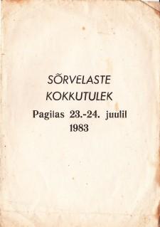 Sõrvelaste kokkutulek Pagilas 1983