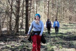 Seltskond metsarajal