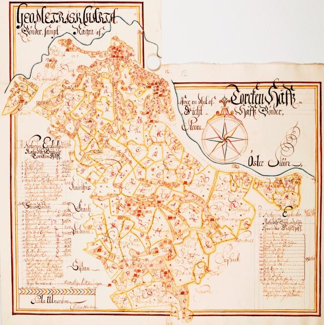 Ula ja Rahuste küla kaart