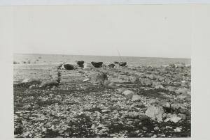 Ränk, Gustav Lautrid (paadisadamad) Jämaja rannas Eesti Rahva Muuseum ERM Fk 578:28 Attribution-ShareAlike 4.0 International Jämaja küla